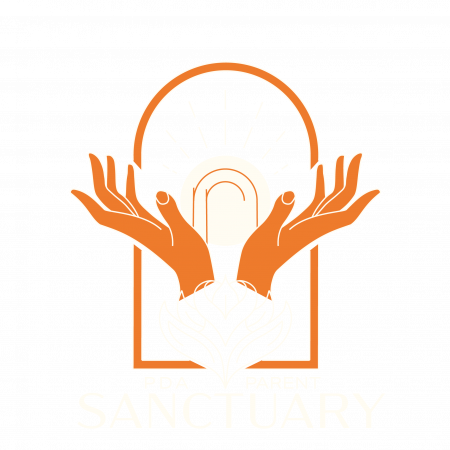 PDA Sanctuary Footer Logo White